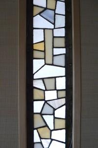 作成されたステンドグラス詳細(広縁ドア)