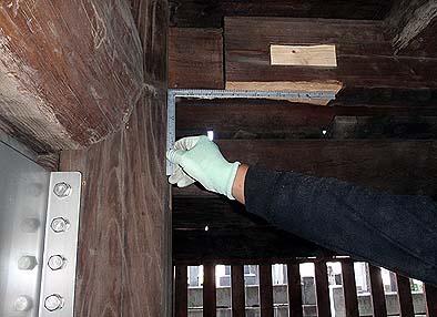 ダンパーは柱と梁が直交する部位に取り付ける
