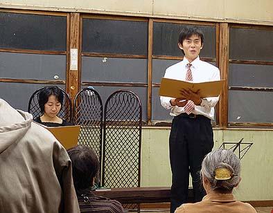 谷口正浩さんと椿留美子さんの掛け合いで物語が進行