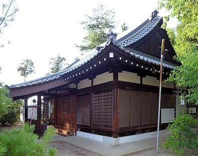 佐久神社 拝殿