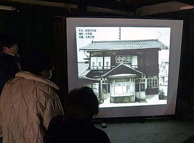 たいへん好評だった古写真のスライドショー(昭和30年頃の中将湯)