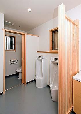 男子洗面トイレ