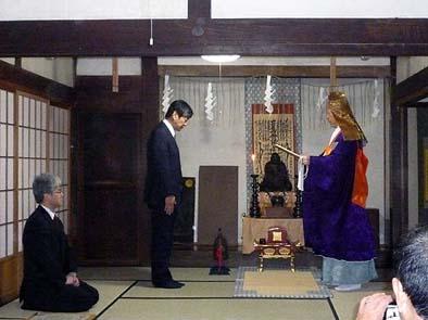 文化財建造物保存技術協会様といっしょに久遠寺様から感謝状をいただきました。