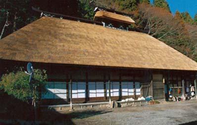 震災前の尾形家住宅