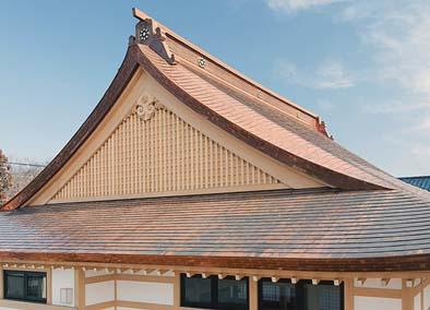屋根(南妻面を見る)