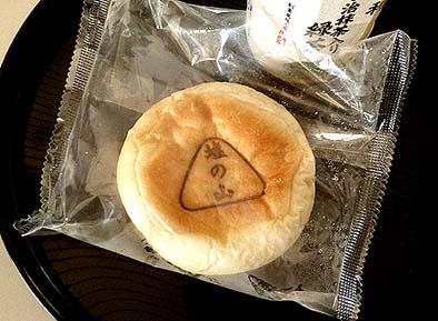 作業後には、町田製パンのアンパン「塩の山」とお茶で疲れを癒しました。