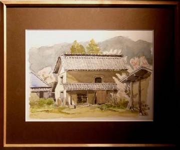 「杏花と土蔵」 清水康造