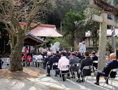 この日は大藤・神金地区から大勢の関係者が集まりました。