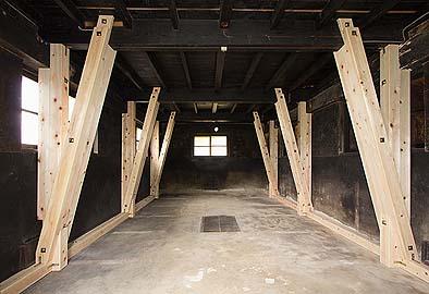 竣工 納屋1階。
