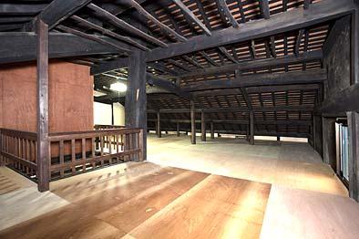 竣工後の2階内観。