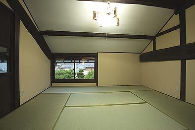 竣工後の2階居室。