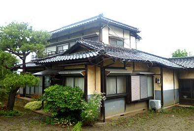 昭和の趣を良く伝える住宅です。