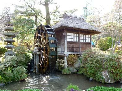 工事着工前の水車小屋