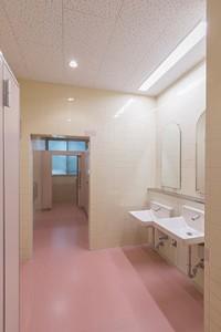 竣工 1階 洗面・WC