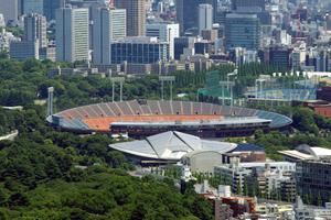 国立競技場(東京) 2015年に解体処分完了、わずか57年の命でした