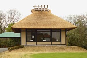 新武蔵丘ゴルフコース・レストラン竣工正面外観