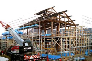 箕輪の家の構造体を使って新築住宅を建てる