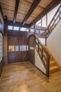 階段室ホール 玄関ホールの北側に位置する