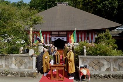 落慶した廣禅院、本堂外観