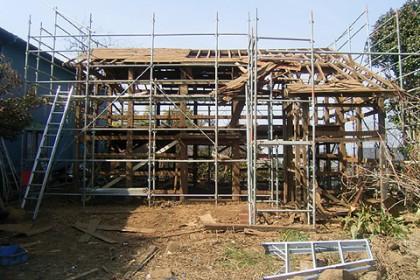 平成25年3月、調査と解体工事が行われた