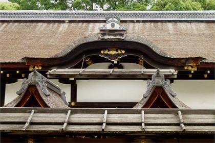 下賀茂神社(拝殿の唐破風)