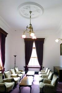 豊平館の洋室