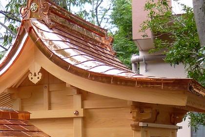 本格的な木組み詳細