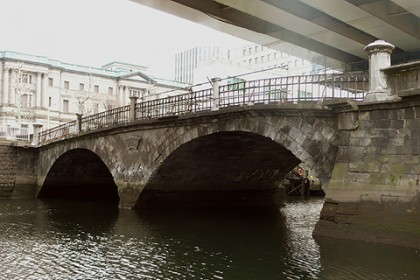 明治10(1877)年架橋 石造りのアーチ橋