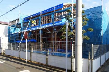 東大和市に伝匠舎ブランドの新築住宅が建とうとしています