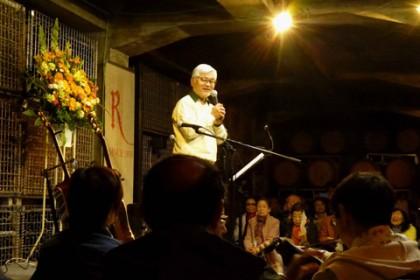 大村社長様の初めの言葉に続くコンサートの写真は… 残念ながらお見せできません